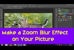 Make a Zoom Blur Effect on Your Picture