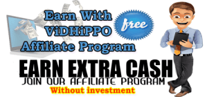 Earn With ViDHiPPO Affiliate Program