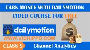 Analyze a Dailymotion channel