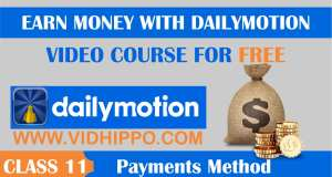 Dailymotion Payment