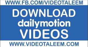 Download Dailymotion Video Online