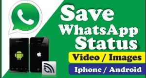 Save Whatsapp Status