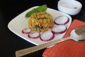 Vegetable Biryani / Biriyani