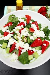 SpinachCottageCheeseSalad