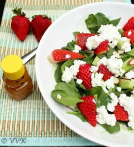SpinachStrawberrySalad