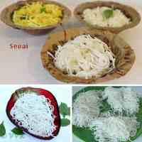 Sevai | Homemade Sevai / Rice vermicelli with Rice Flour