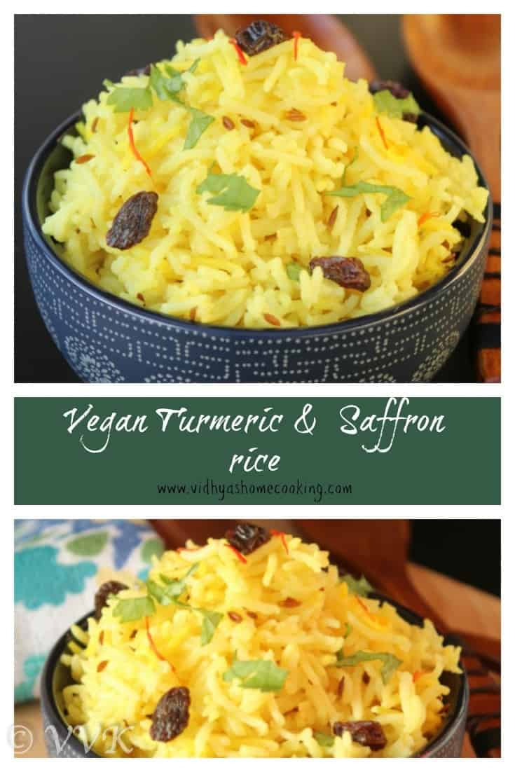 how to make saffron rice in rice cooker