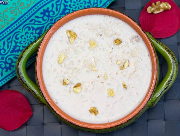 Instant Pot Rice and Walnut Kheer