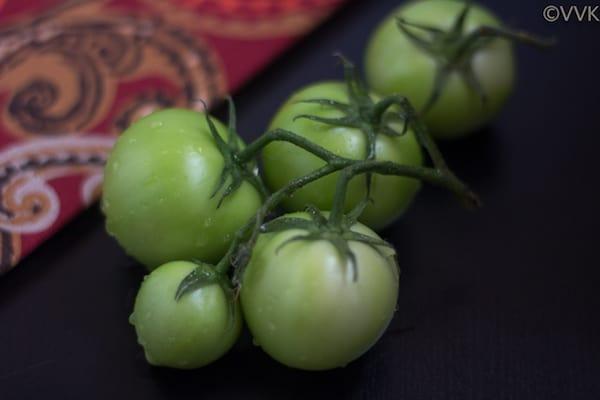 Green Tomato Kootu