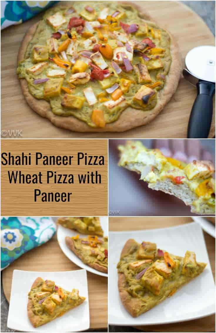 Shahi Paneer Pizza