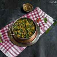 Keerai Kootu | Moong Dal Spinach Gravy