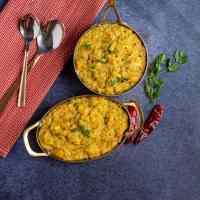 Pressure Cooker Sambar Rice | Quinoa Sambar Sadham