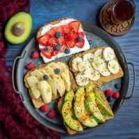 Breakfast Toasts 4 Ways | Simple Breakfast Toasts