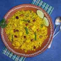 Kanda Batata Poha | Quick Poha Recipe | Aval Upma