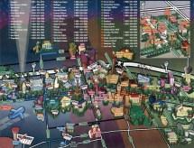 Las Vegas City Tourist Map. Map