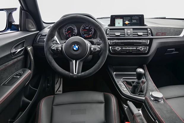 BMW M2 CS interijer