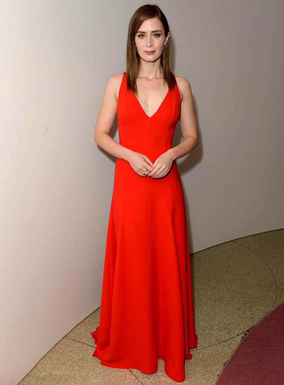 Emily Blunt  Guggenheim International Gala Dinner