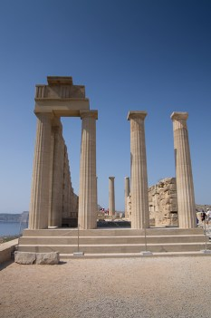 Ostaci hrama Atene Lindie - Temple of Athena Lindia