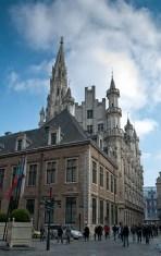 Brisel, prema gradskoj vijećnici - Brussels, towards City Hall