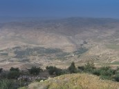 Pogled s planine Nebo na Kanaan - View from Mount Nebo in the land of Canaan