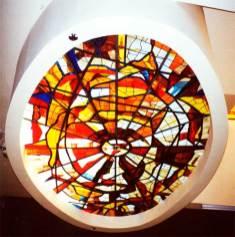 Diseño y fabricación de vidrieras para capillas