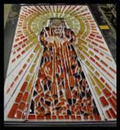 Diseño y fabricación de mosaicos con motivos religiosos