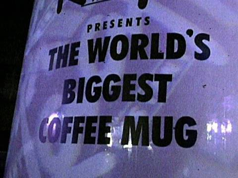 6-Meter Tall Coffee Cup