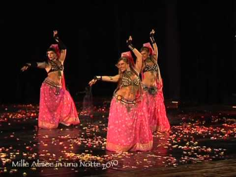 A Perfect Combination Of Bellydance And Bollywood