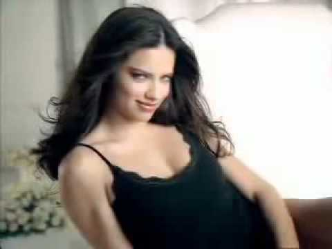 Adriana Lima Warms Up for the Super Bowl