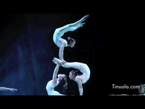 Chinese Acrobats Show Their Talent On Skates