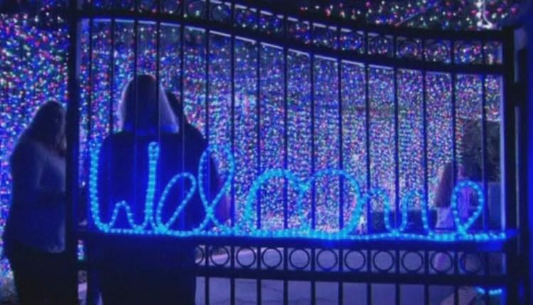Christmas Lights World Record 2013