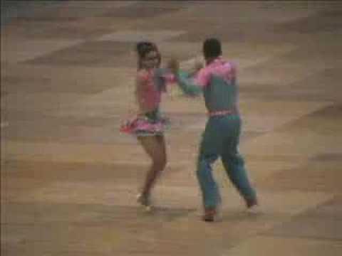 Colombian Salsa Dancers At World CHampionship
