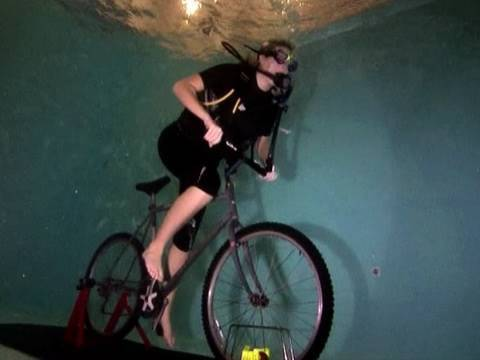 Ever Seen Underwater Cycling?