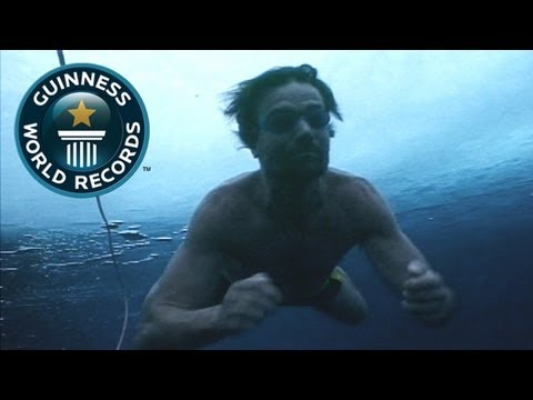 Farthest Swimming Under Ice