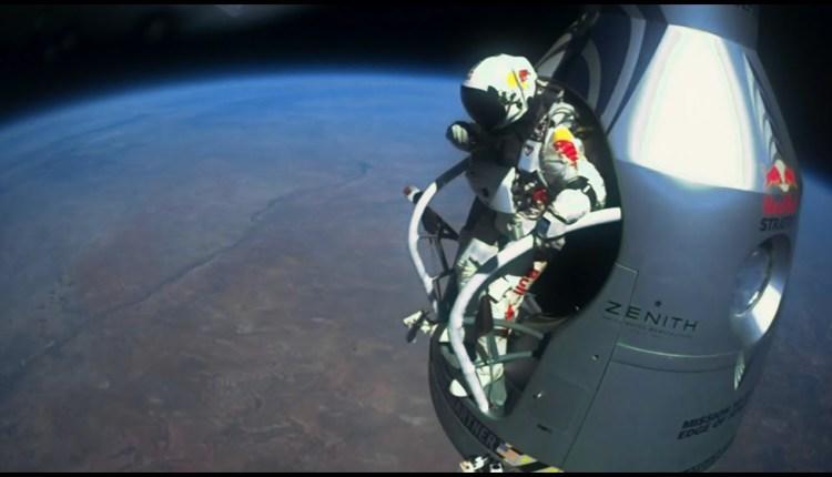 Felix Baumgartner's Supersonic Freefall From 128k