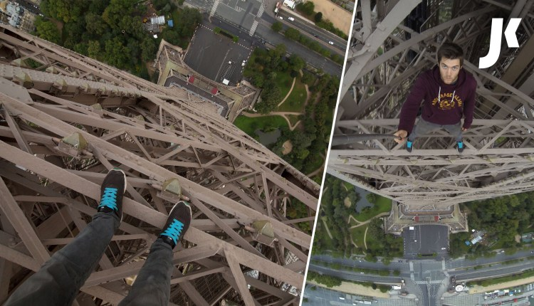 Free Climb The Eiffel Tower