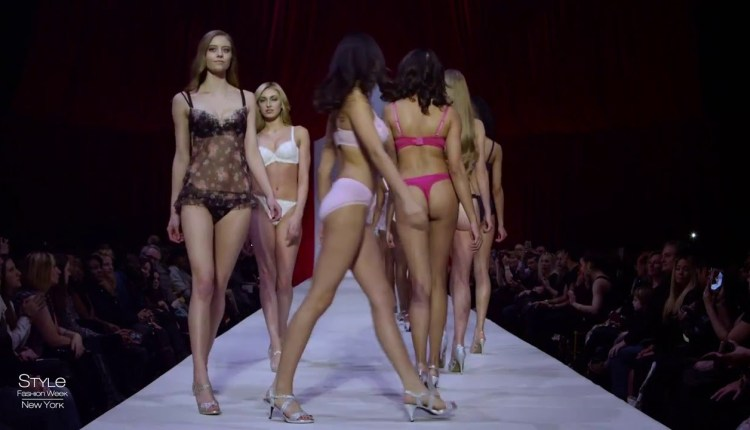 FTV Lingerie Catwalk Fashion Show