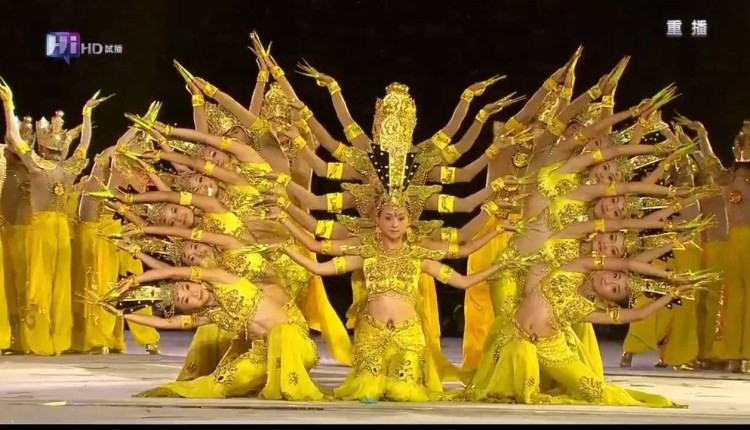 Guan Yin Dance Delivers With 1000 Hands