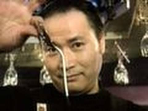 Japanese Barman Bends Metal