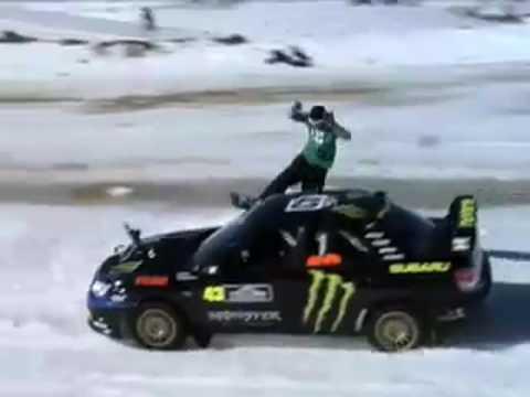 Ken Block's Snowboard Rally