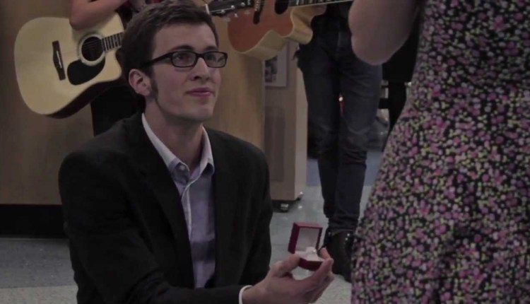 Most Amazing Musical Proposal