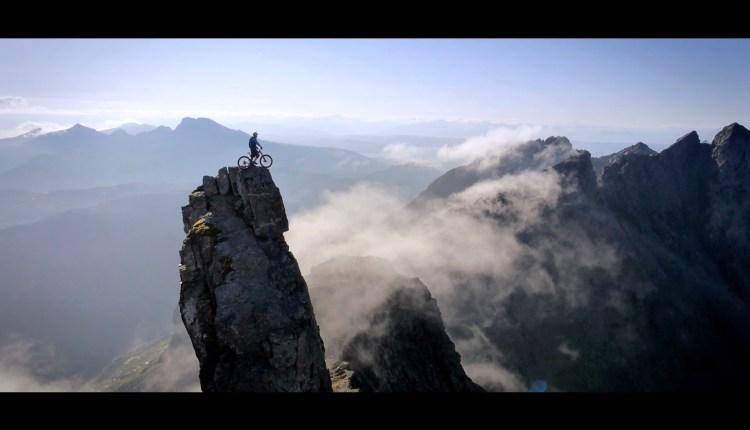 Mountain Biking Over The Ridge
