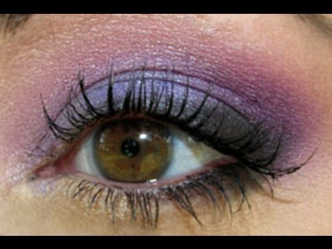 Purple Smoky Eyes