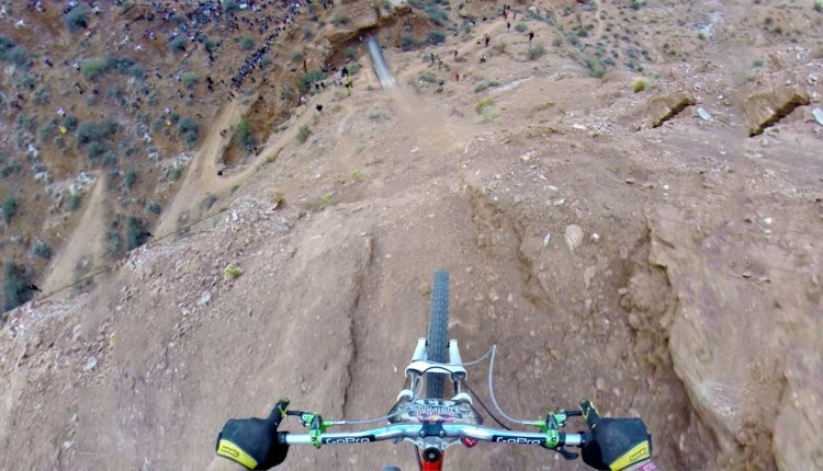 Riding A Bike Over 72ft Canyon