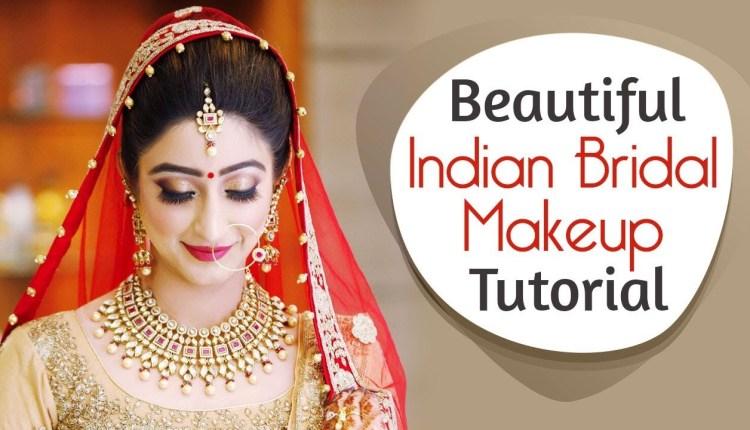 Traditional Desi Bridal makeup Tutorial