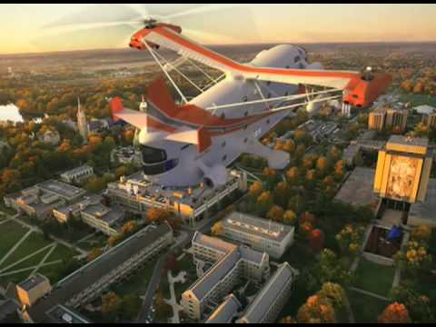 World's First Flying Hotel Helicopter