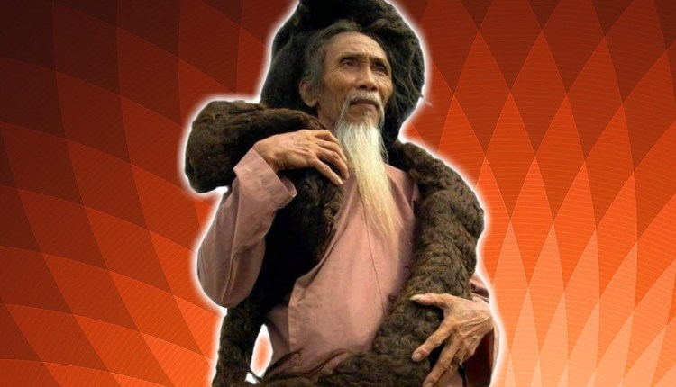 World's Longest Hair Man