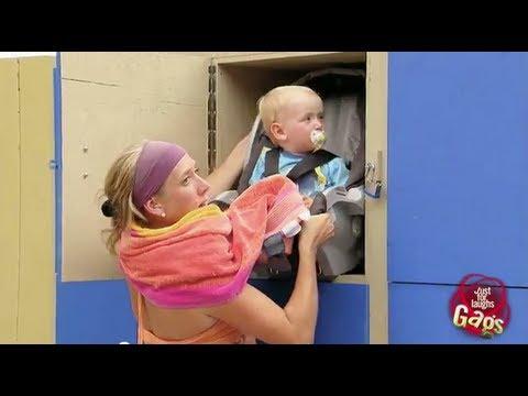 Baby In A Locker Daycare Prank