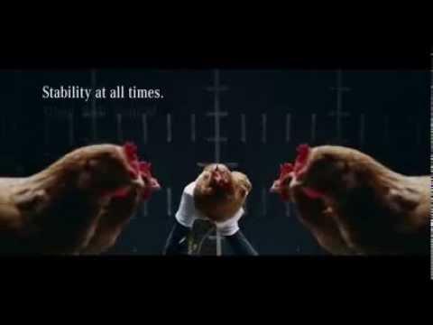 Brilliant Mercedes Suspension Ad