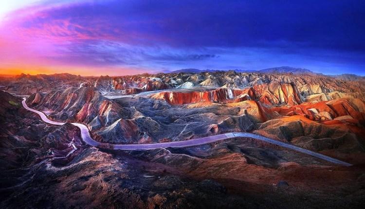 China Danxia Mountains